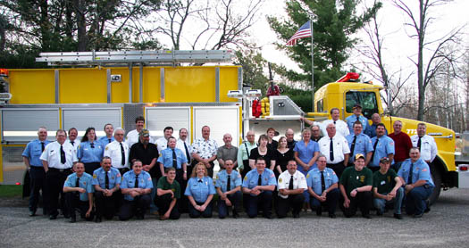 Mancelona Volunteer Firefighters - 2007